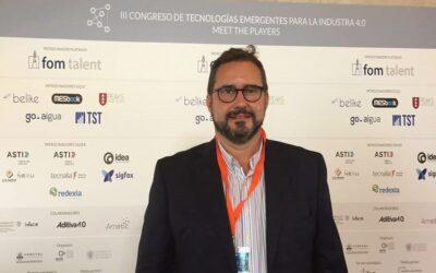 VITORIA DE LERMA EN EL CONGRESO DE TECNOLOGÍAS EMERGENTES PARA LA INDUSTRIA 4.0.