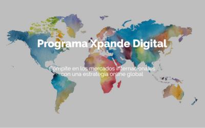 Comienza el Plazo de Inscripción para el programa Xpande Digital 2020