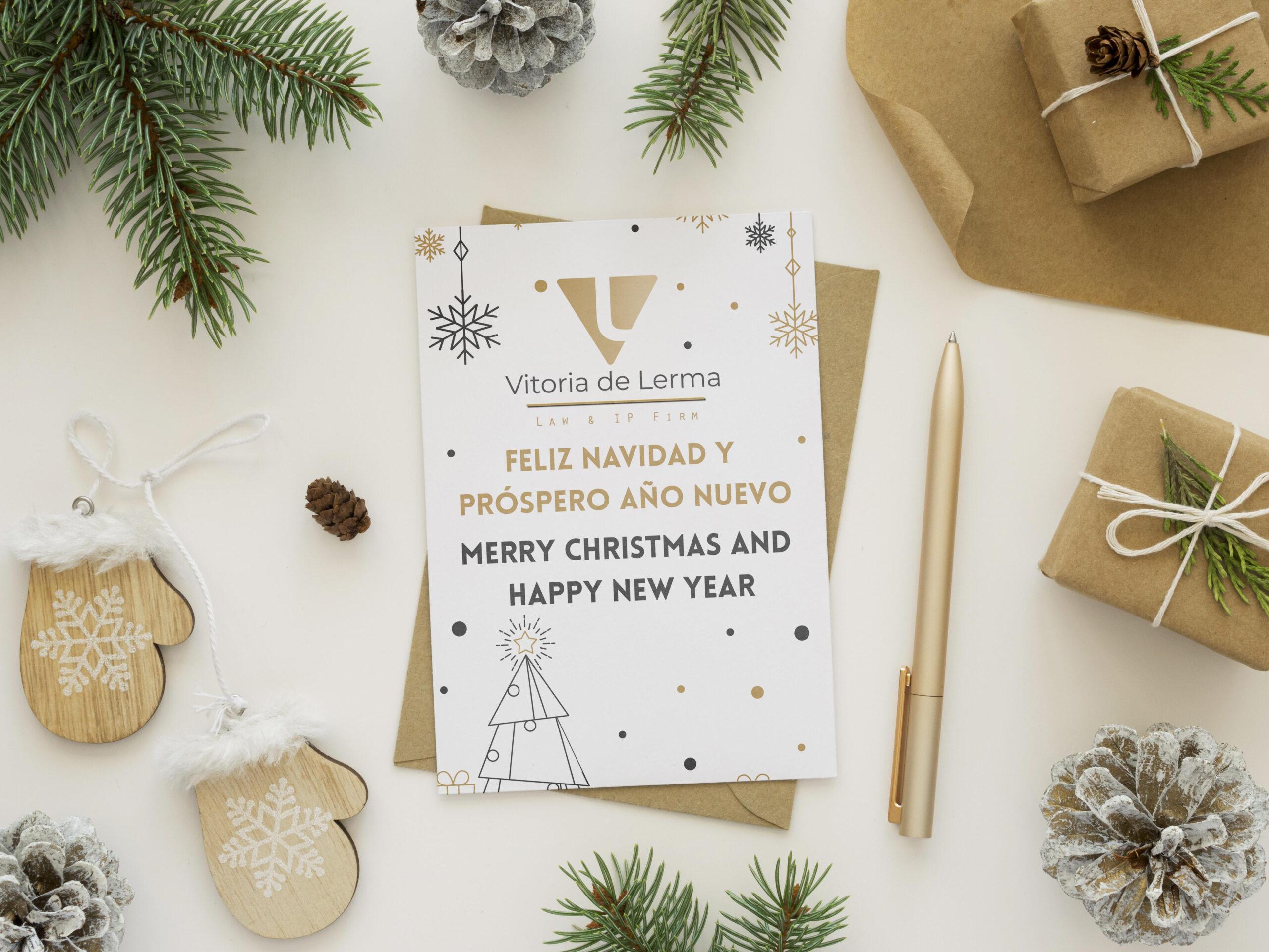 Vitoria de Lerma wishes you a Merry Christmas
